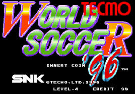 Tecmo World Soccer 96 (MAME)