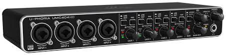 <b>Аудиоинтерфейс Behringer U-Phoria UMC404HD</b>