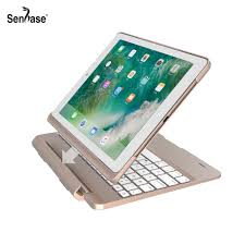 <b>360 Degree Rotable</b> Bluetooth Keyboard <b>7</b> Colors Backlit Case ...
