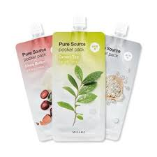 Регулярная <b>маска Missha</b> Pure Source Pocket Pack, цена. Купить ...