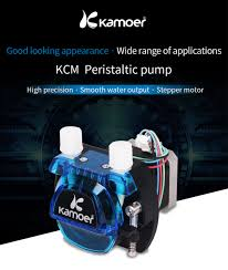 Kamoer KCM 12V /24V Mini Peristaltic Water Pump With Stepper ...