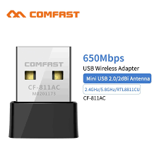 (1Year Warranty ) <b>Comfast 650Mbps Wireless</b> USB <b>Wifi</b> Adapter <b>CF</b> ...