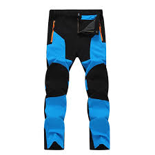 <b>Outdoor</b> Hiking Ski Pants <b>Winter</b> Warm <b>Fleece</b> Padded Waterproof ...