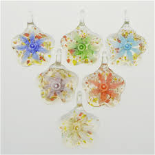 12pcs <b>Murano</b> Lampwork <b>Blown Glass</b> Pendant Necklace Fashion ...