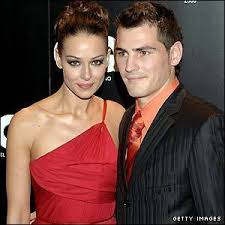 Iker Casillas with hot, Wife Sara Carbonero