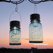 solar lights ball mason jars quart pint blue antique zoom ball mason jar solar lights