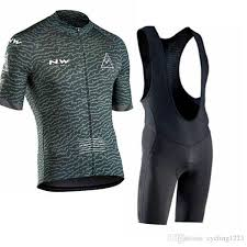 <b>NW Northwave 2019</b> Pro Team Cycling Jersey Men <b>Summer</b> Short ...