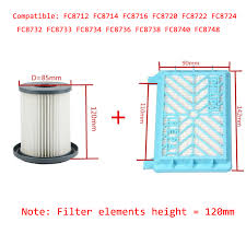 <b>2pcs</b> Vacuum Cleaner <b>Accessories HEPA Filters</b>+12cm <b>Filter</b> ...