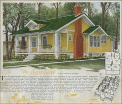 House Plans   Classic Craftsman style bungalow   The Sunshine     Aladdin   Shunshine