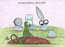Resultado de imagen de homenaje a spock