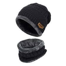 VBIGER 2-Pieces Winter Beanie Scarf Set Warm Hat ... - Amazon.com