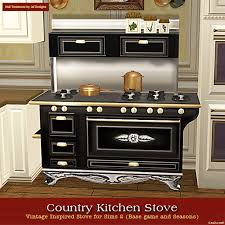 May 24th, Sims 2 Country Kitchen Stove Set!