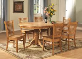 Ebay Dining Room Sets Oval Dinette Kitchen Dining Room Set Table With Chairs In Oak Ebay