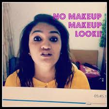no makeup makeup look sunnshinealy indian skin 2016 08 27