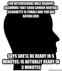 Good Gender Neutral Silhouette memes | quickmeme via Relatably.com