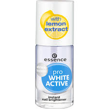 <b>essence Pro White Active</b> Nail Brightener | Wilko