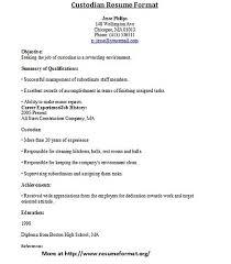 custodian resume   handybytecustodian resume format   flickr   photo sharing