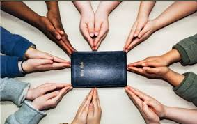 Image result for group praying image