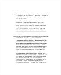Sample Annotated Bibliography      Documents in Word  PDF Buy Annotated Bibliography Apa Cover Page