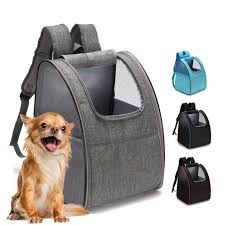 Pet Carrier Bag <b>Outdoor Portable</b> Cat Puppy <b>Backpack</b> Comfy Case ...