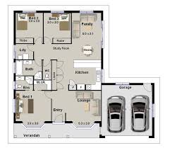 BEDROOM   HOUSE PLANS  HOMESTEAD  DOUBLE GARAGE  CONSTRUCTION     Bedrooms   Homestead House Plans