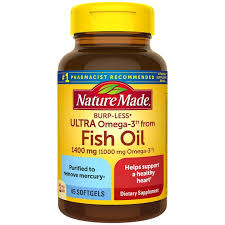 <b>Ultra Fish Oil</b> Derived <b>Omega-3</b> | For Heart Health | Nature Made ...