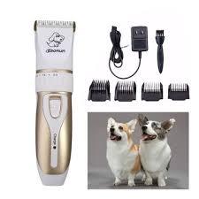 baorun global voltage <b>pet cat dog electric</b> hair trimmer at Banggood