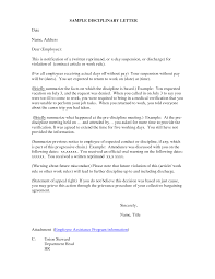 how to write an appeal letter for disciplinary action samples of disciplinary letter sample and written warning disciplinary action