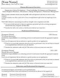 gallery images of human resources resume  seangarrette co  sample human resources resume entry level