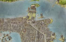 from the braavos map of the lands of ice and fire collection braavos map game thrones