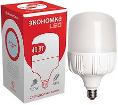 <b>Лампа</b> светодиодная <b>Экономка LED</b> для бизнеса, цоколь <b>E27</b>, 40 ...