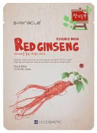 LS Cosmetic <b>тканевая маска</b> s+miracle <b>красный женьшень</b> ...