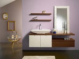 elegant design of wall mount furniture bathroom vanity ideas with white porcelain vessel sink and white bathroom furniture ideas