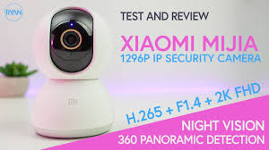<b>Xiaomi Mijia</b> 1296P 2K Security Camera REVIEW - 360° + Night ...