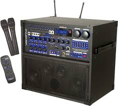 sound system wireless: vocopro hero rv pa amp karaoke system