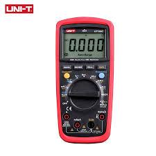 UNI T <b>Digital Multimeter UT139</b> Series True RMS LPF Low Pass ...