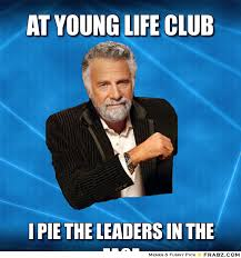At Young Life Club... - Meme Generator Captionator via Relatably.com