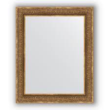 <b>Зеркало</b> 83х103 <b>см</b> вензель бронзовый Evoform Definite BY 3287 ...