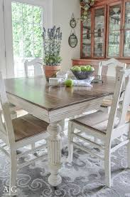 nice antique dining table updated with chalk paint by httpwwwcoolhome antique distressed furniture