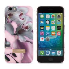 """<b>Клип</b>-<b>кейс</b> для <b>iPhone</b> 6/6S """"Ethereal Posie Nude"""" Ted Baker ..."""