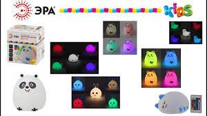 Обзор мягких <b>светодиодных</b> светильников-<b>ночников</b> Эра серии ...