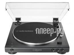 <b>Проигрыватель Audio-Technica AT-LP60X Black</b> AT-LP60XBTBK