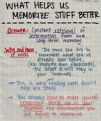 25 study infographs tips and tricks to help you get good other day in biopsych the reason why flashcards are a great way to memorize concepts and terms is because when you study them you make your brain