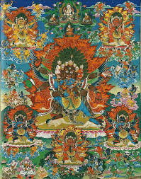 cosmic rapture: the assembly of peaceful and wrathful deities via Relatably.com