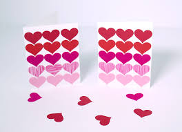 fast paper heart collage cards ilovetocreate picture of fast paper heart collage cards