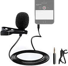 MAONO Lavalier Microphone 4-3Pin Adapter Lapel Mic Handsfree ...