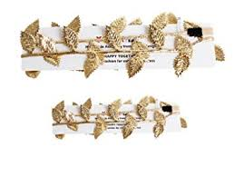 Merroyal 2pc Hot <b>Baby Newborn</b> Mom Gold Leaves <b>Headband</b> ...