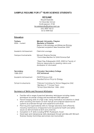 sample cv first year college student resume builder for job sample cv first year college student sample first college resume northeastern university college student resume template