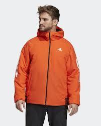 <b>Куртка мужская</b> Adidas <b>Bts</b> 3s Ho Jkt, цвет: оранжевый. DZ1405 ...