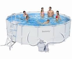 <b>Bestway</b> Каркасный <b>бассейн</b>, <b>549х132</b> см, 26000 л, песочный ...